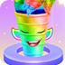 彩虹独角兽冰淇淋