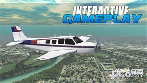 真正的飞机飞行飞行员模拟器游戏 1.0截图1